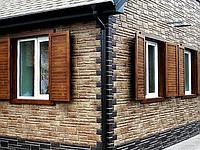 Облицовочные фасадные панели под камень