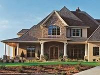141 вариант оформление фасада дома