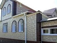 Самые распространенные варианты отделки фасада частного дома