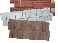 Виды фасадных панелей для дома — их плюсы и минусы