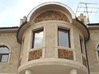 Натуральный природный камень Песчаник для фасада