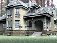 Виды отделочных материалов для фасадов частных домов и их достоинства